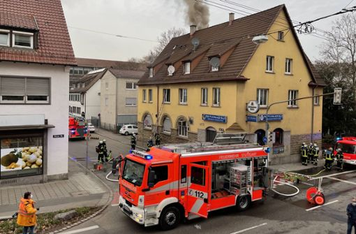Neun Verletzte nach Feuer in Gaststätte