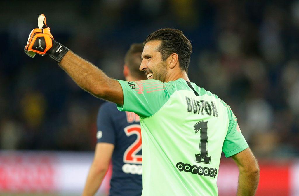 """Gigi"" Buffon kehrt vielleicht zu Juventus Turin zurück. Foto: Michel Euler/AP/dpa"