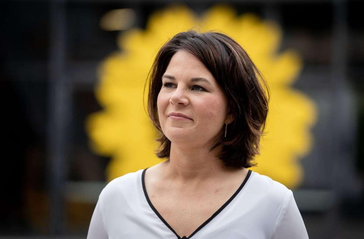 Annalena Baerbock fordert mehr Solidarität von Deutschland. Foto: dpa/Kay Nietfeld