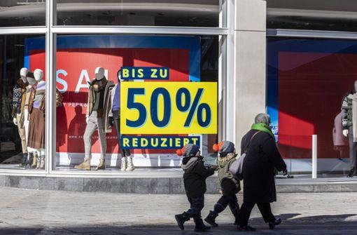 Handel  in Baden-Württemberg soll schon Anfang März wieder öffnen