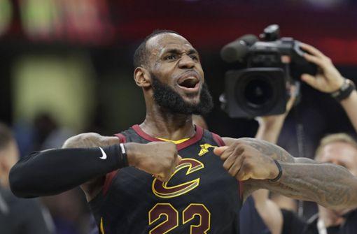Superstar LeBron James wechselt zu Los Angeles Lakers
