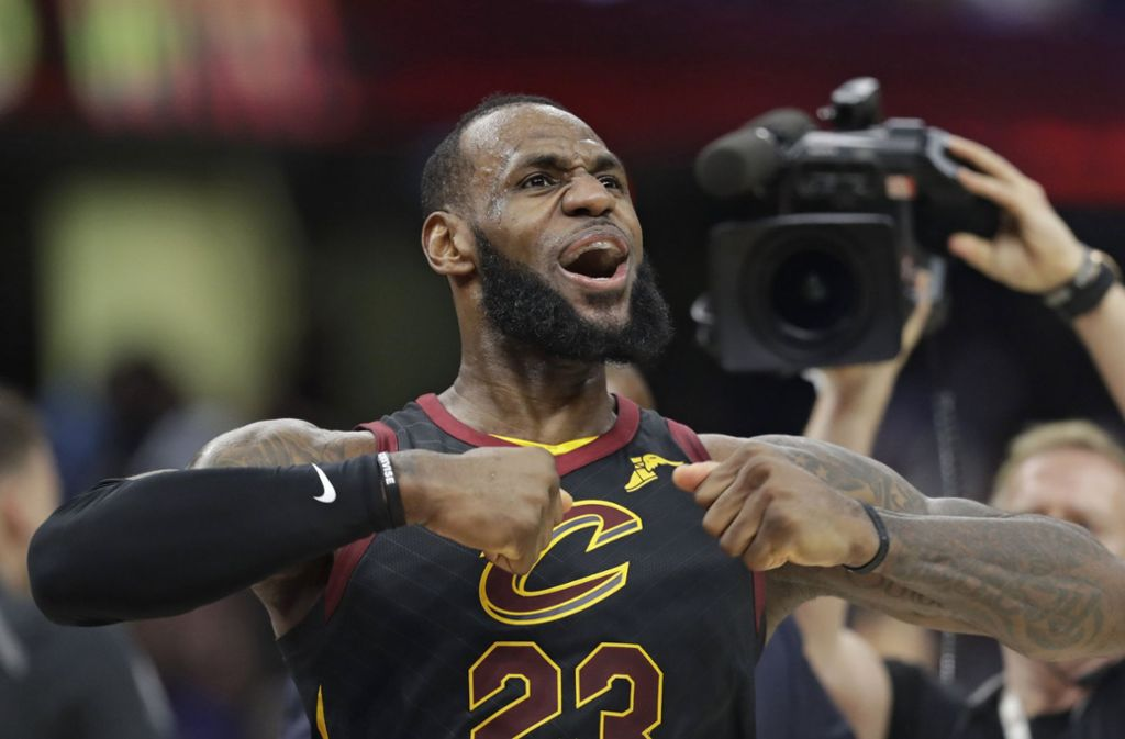 LeBron James wird künftig für Los Angeles Lakers auflaufen. Foto: AP
