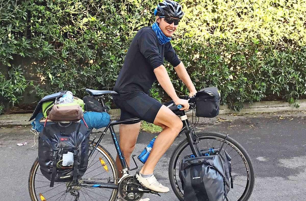 Julian Großkopf hat schon große Radtouren durch Europa unternommen. Foto: privat