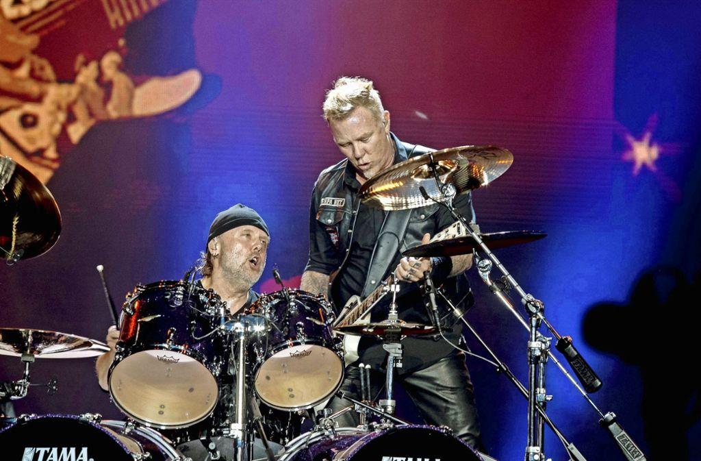 Metallica tritt im April an zwei Terminen in der Stuttgarter Schleyerhalle auf Foto: imago