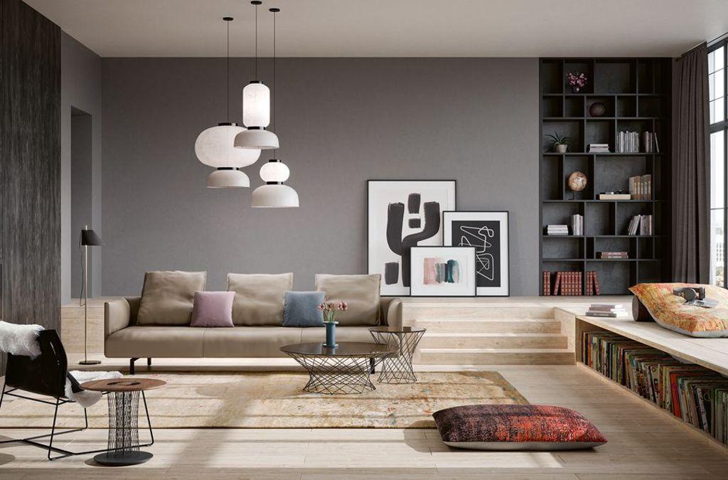 Walter Knoll bringt mit Muud ein Sofa auf dem Markt, das für urbane und auch kleinere Grundrisse konzipiert ist.  Foto: Walter Knoll