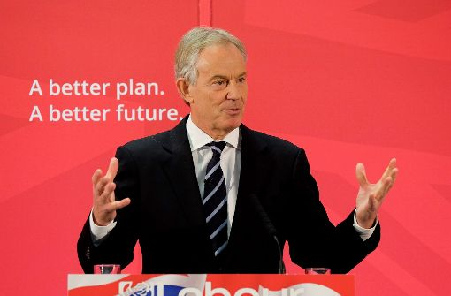 Tony Blair ruft zum friedlichen Widerstand auf
