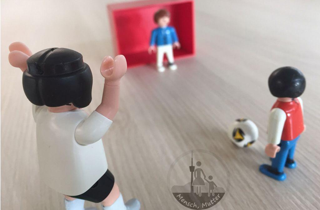 Dem fünfjährigen Sohn zuzugucken ist mitreißender als jedes Bundesligaspiel. Foto: dpa