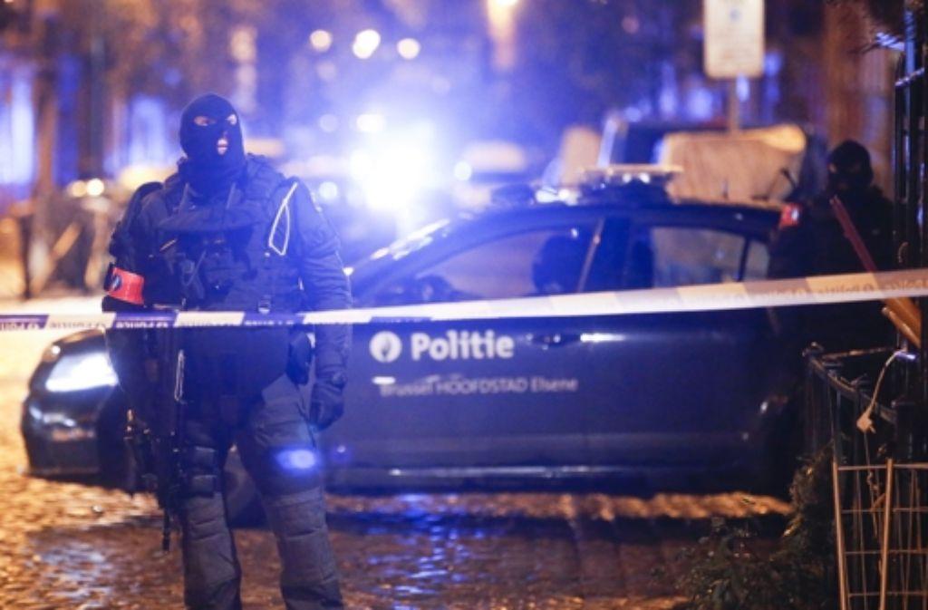 Der Stadtteil Molenbeek in Brüssel war seit den Anschlägen von Paris schon öfter Ziel von Razzien gegen Terrorverdächtige. Foto: dpa