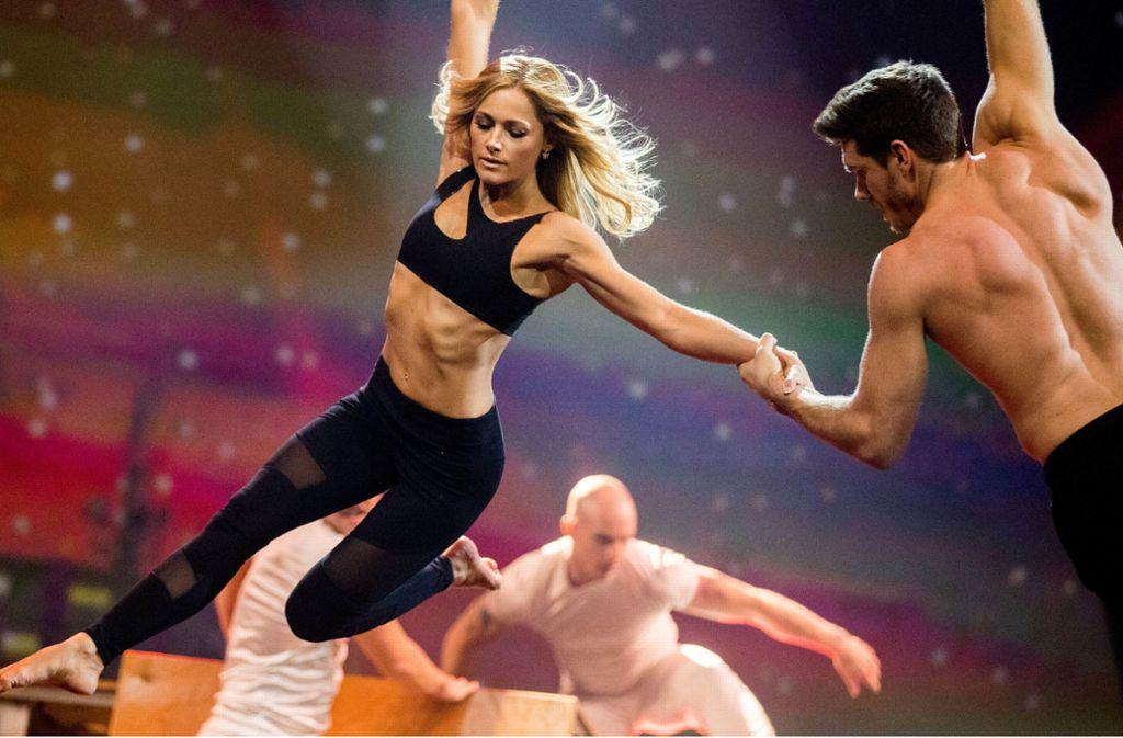 Ist er das? Laut RTL soll es sich beim neuen Freund von Helene Fischer um den Tänzer und Luftakrobaten Thomas Seitel handeln. Foto: dpa