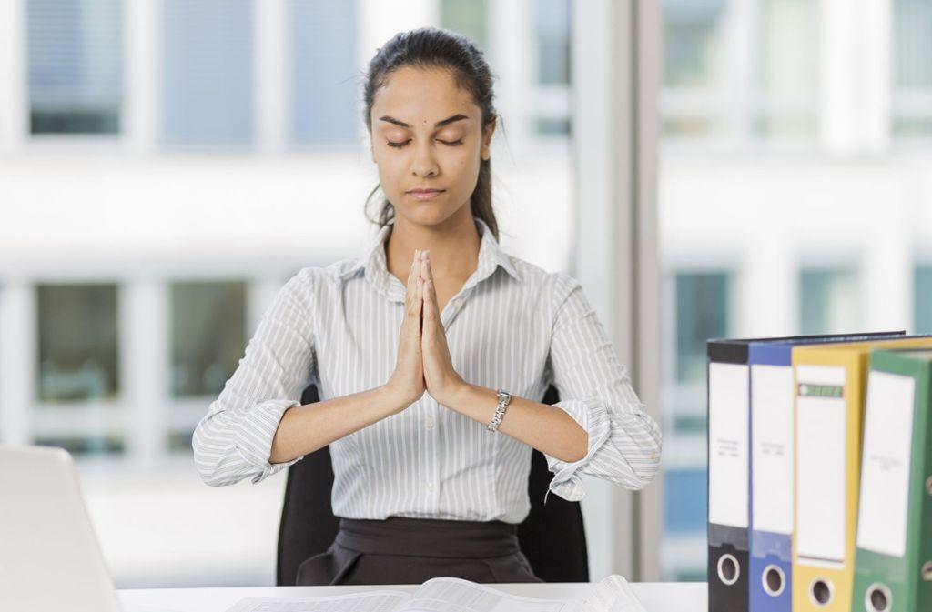 Mehr Gelassenheit und ein anderer Umgang mit Stress im Job? Lässt sich trainieren. Foto: dpa