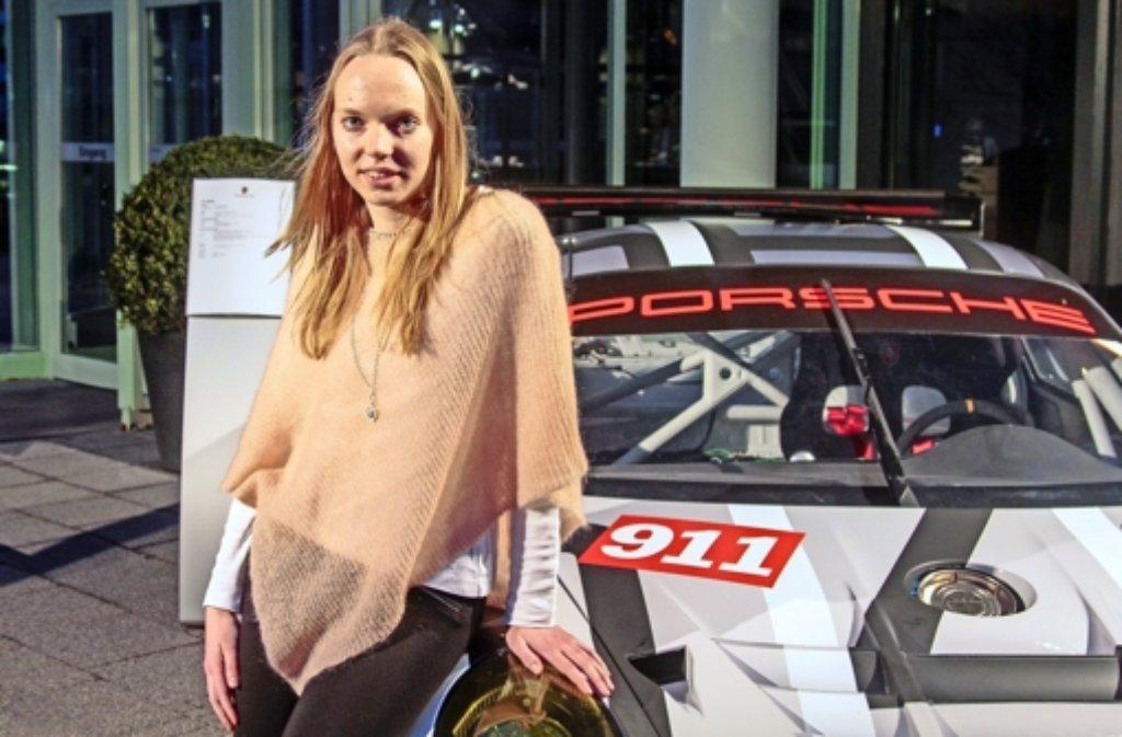 Die Simulationstechnik-Studentin Nicole Neis aus Weil der Stadt hat den Ferry-Porsche-Preis gewonnen. Foto: factum/Granville