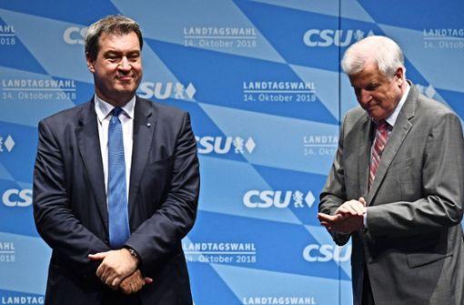 Die CSU und Markus Söder heben ab zur Bauchlandung