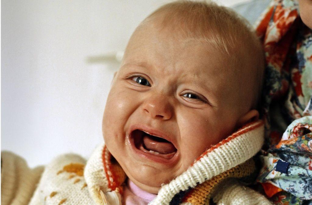 Eva schreit – Eltern von Schreibabys sind nervlich oft am Ende. Foto: Martin Zinggl
