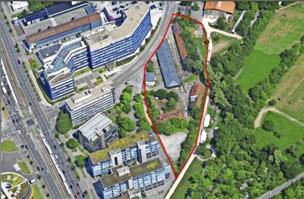 Im Spätsommer kommenden Jahres sollen die vier neuen Systembauten  an der Krailenshaldenstraße im Gewerbegebiet bezogen werden. Foto: Stadt Stuttgart
