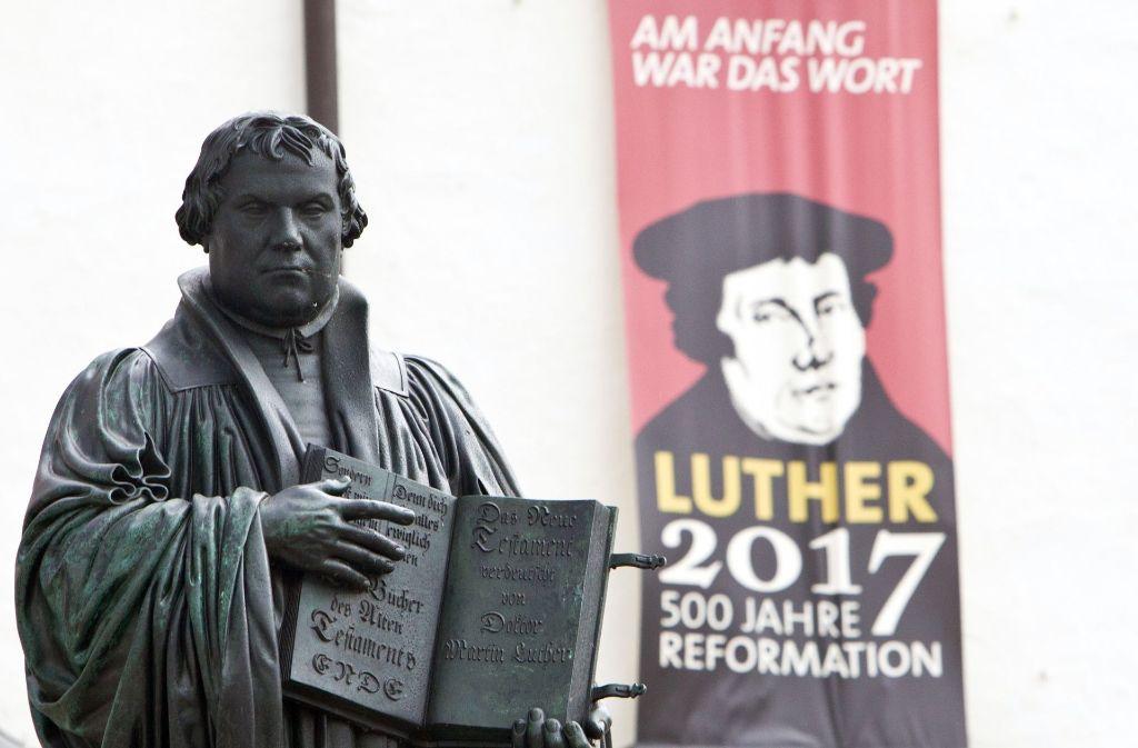 """Vor 500 Jahren hat Martin Luther seine """"95 Thesen"""" veröffentlicht. Foto: dpa"""