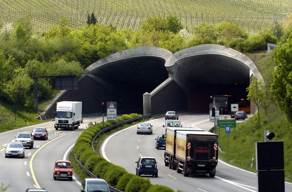 Der Kappelbergtunnel ist in dieser Woche schon dreimal gesperrt gewesen. Foto: dpa//Bernd Weißbrod