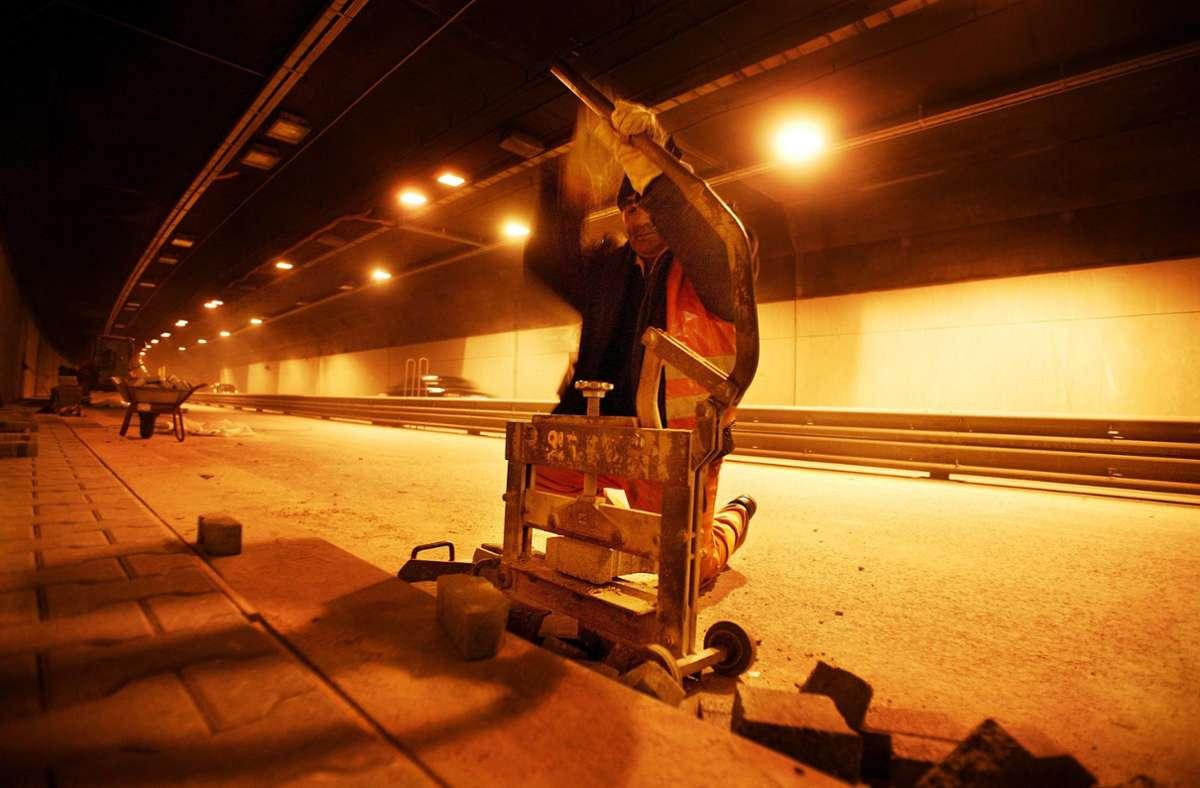 Der Kappelbergtunnel wird wegen Reparaturarbeiten eine Nacht gesperrt. Foto: Gottfried Stoppel