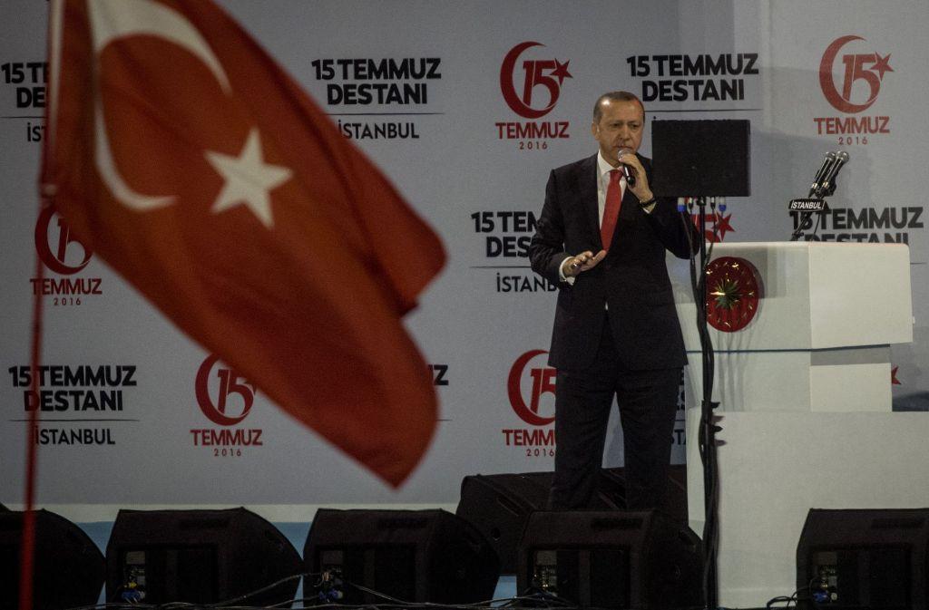 Der türkische Präsident Recep Tayyip Erdogan Foto: Getty Images Europe