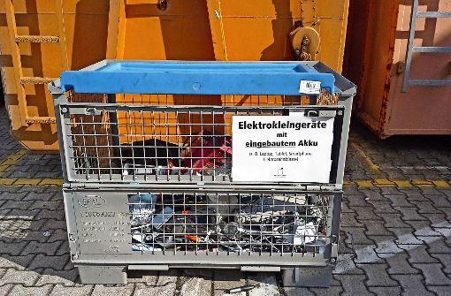 Beim Elektroschrott gelten  neue Regeln