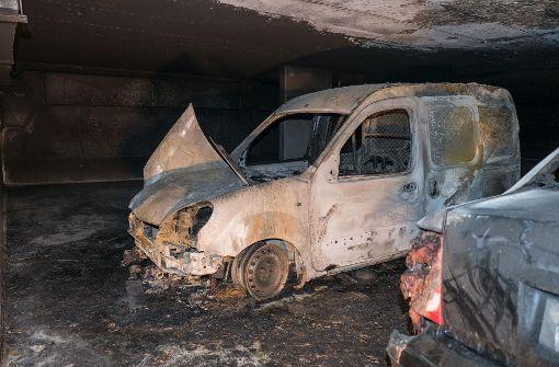100.000 Euro Schaden bei Tiefgaragenbrand