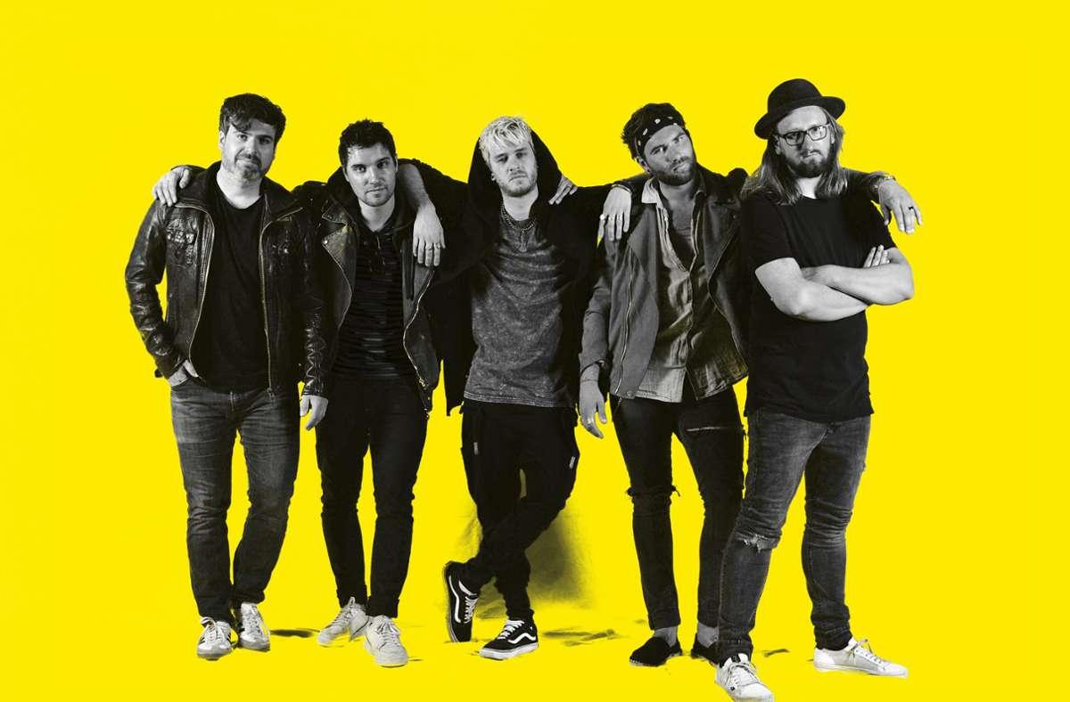 Die Band Antiheld soll Open Air bei einem Festival auftreten. Foto: privat/Sara Bertschinger