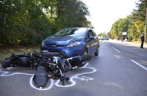 Drei Schwerverletzte bei Harley-Unfall