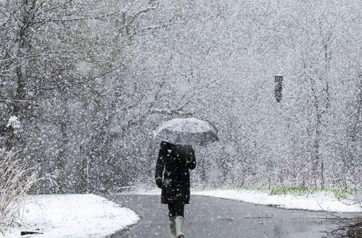 Gewitter und Schnee am Sonntag möglich