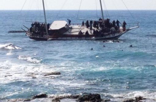 Kriegsmarine  soll leere Boote  zerstören