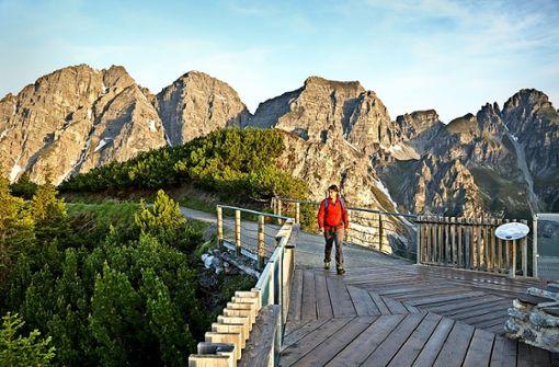 Locker über die Alpen