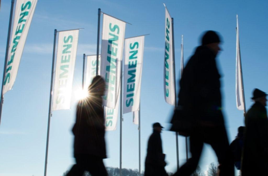 Stellenabbau: düstere Zeiten fü die Beschäftigten bei Siemens. Foto: