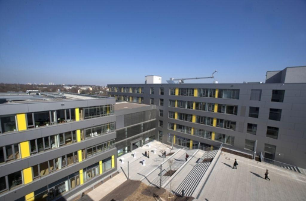 Der Neubau des Zentrums für seelische Gesundheit in Bad Cannstatt ist im Foto: Steinert