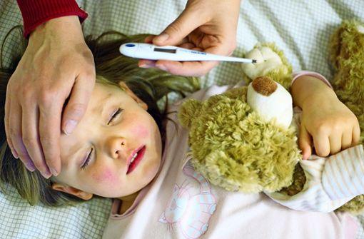 So gefährlich ist die Grippe für Kinder
