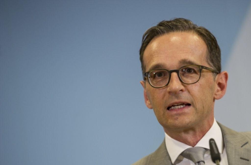 Bundesjustizminister Heiko Maas möchte, dass Facebook effektiver gegen rassistische Hetze in den sozialen Netzwerken vorgeht. Foto: dpa