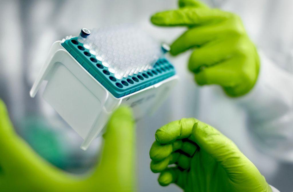 In den Laboren des Mainzer Unternehmens Biontech entwickelt man neuartige Medikamente gegen Krebs. Foto: Biontech SE