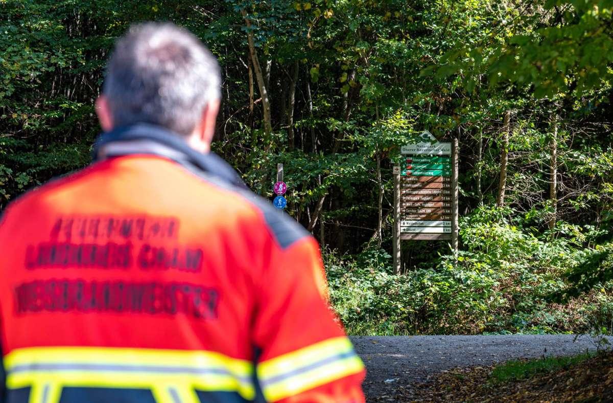 1400 Menschen aus Deutschland und Tschechien hatten sich an der Suche nach dem Mädchen beteiligt. Foto: dpa/Armin Weigel