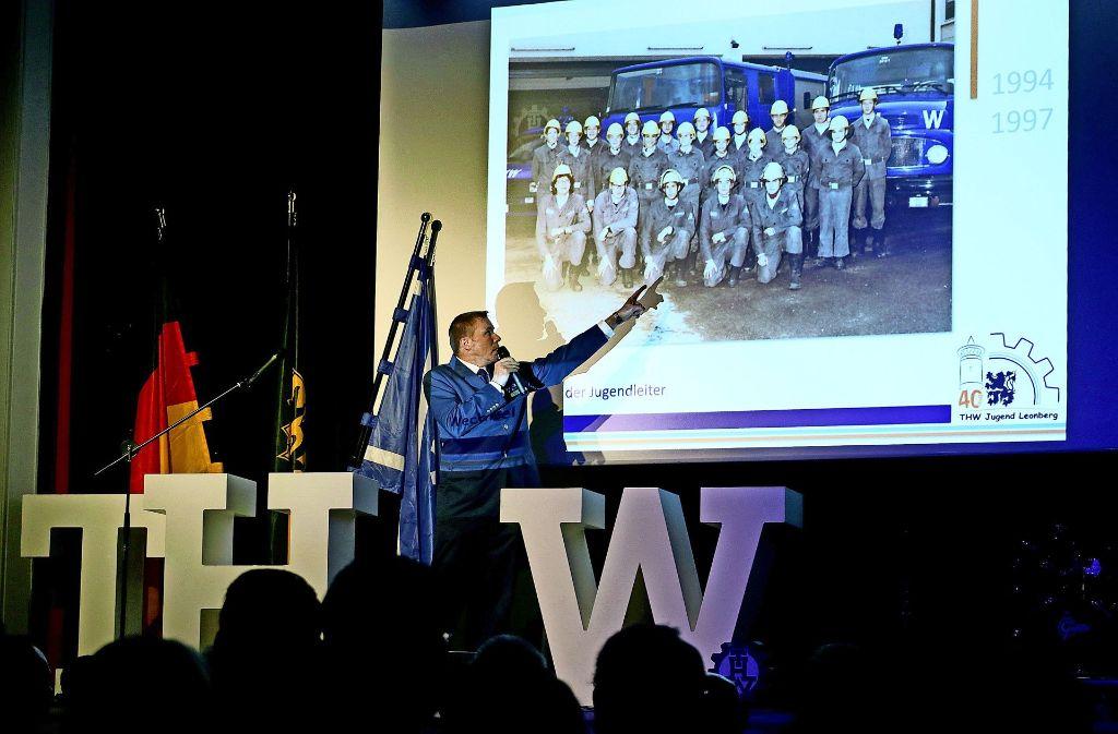 THW-Ortsbeauftragter Matthias Schultheiß Foto: factum/Granville