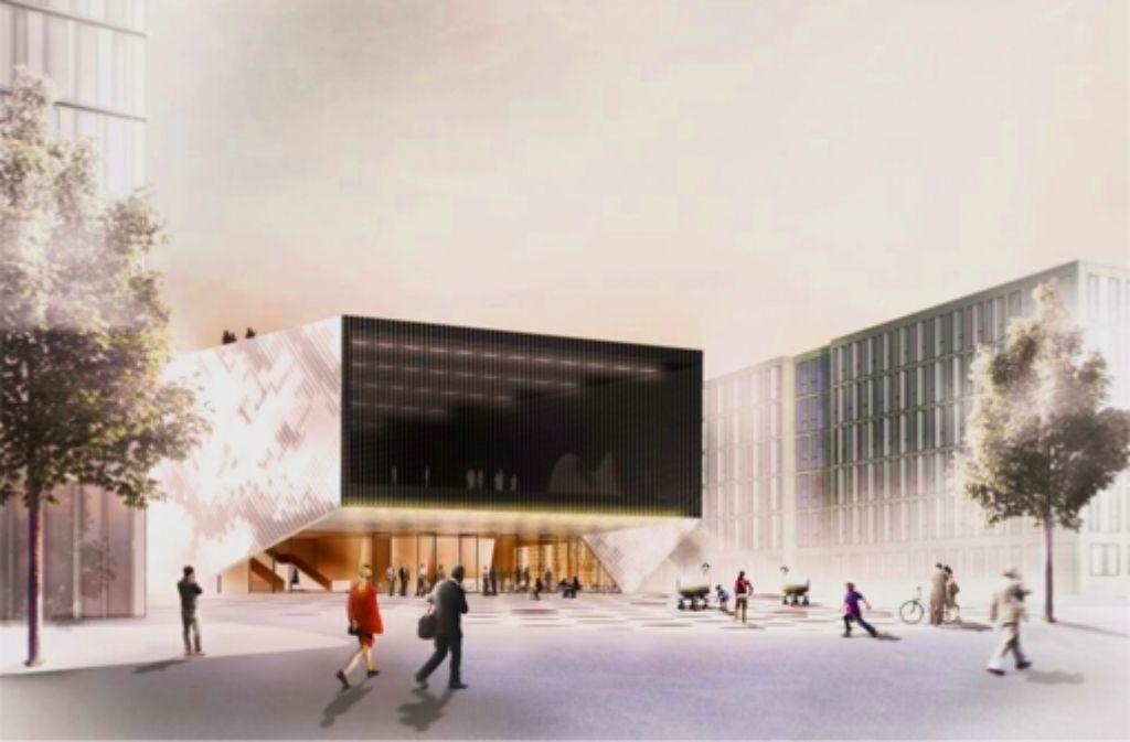 Das Haus der Zukunft soll 2017 fertig sein. Foto: dpa