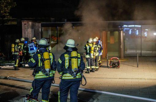 Schulturnhalle nach Schwelbrand gesperrt