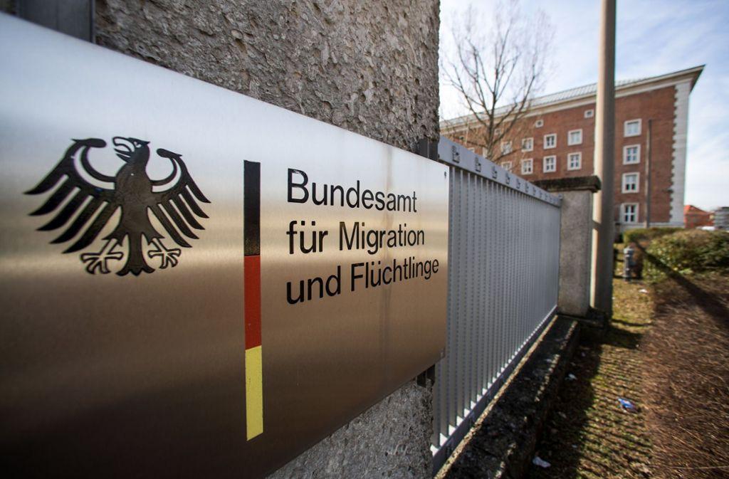 Das Bundesamt für Migration und Flüchtlinge entscheidet über die Anträge. Foto: dpa