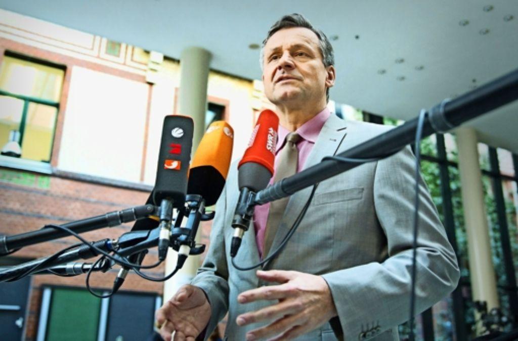 Die FDP in Baden-Württemberg könnte gleich in zwei Variationen an einer Regierungsbildung beteiligt sein. Aber mit den Grünen will der wiedergewählte Fraktionschef Hans-Ulrich Rülke nicht. Schwarz-Rot-Gelb hingegen hat die SPD ausgeschlossen. Foto: dpa