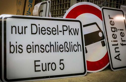 Gericht: Zone gegen Euro-5-Diesel  nicht groß genug