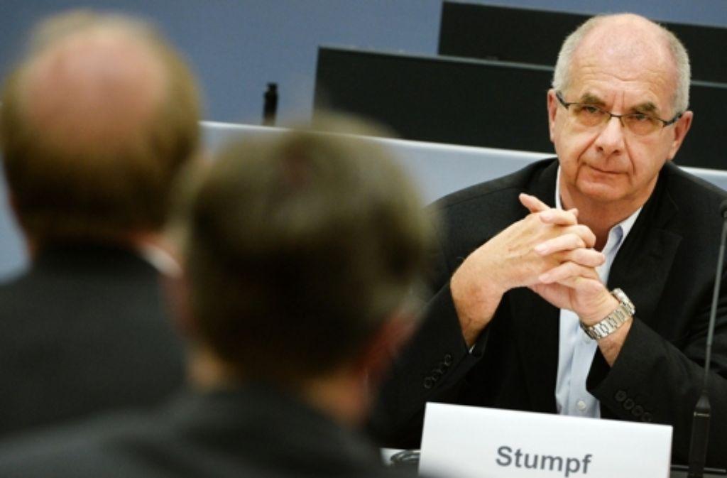 Siegfried Stumpf schweigt weiterhin zum drohenden Strafbefehl. Foto: dpa