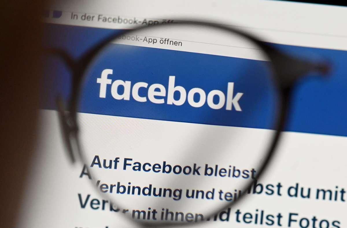 Boykott aufgrund von Hass und Hetze: Werbepartner setzen Facebook unter Druck. Foto: dpa/Uli Deck