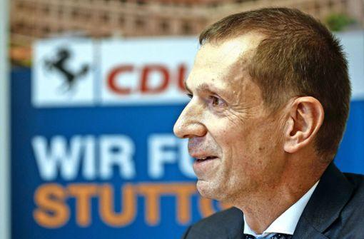 Kotz will nicht OB Fritz Kuhn zum Chef haben
