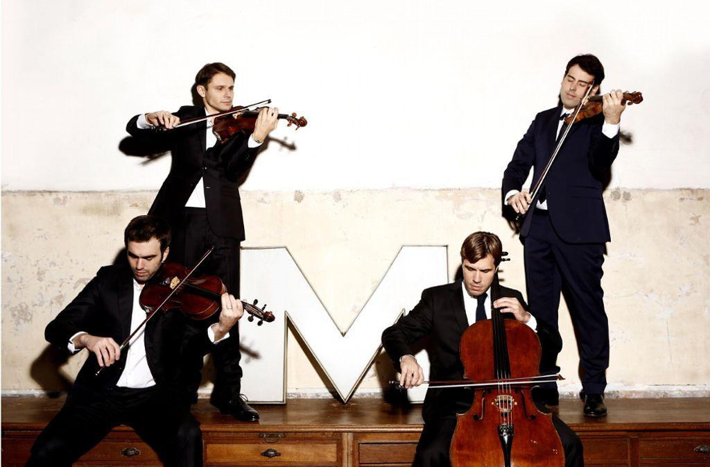 Das Quatuor Modigliani Foto: Marie Staggat