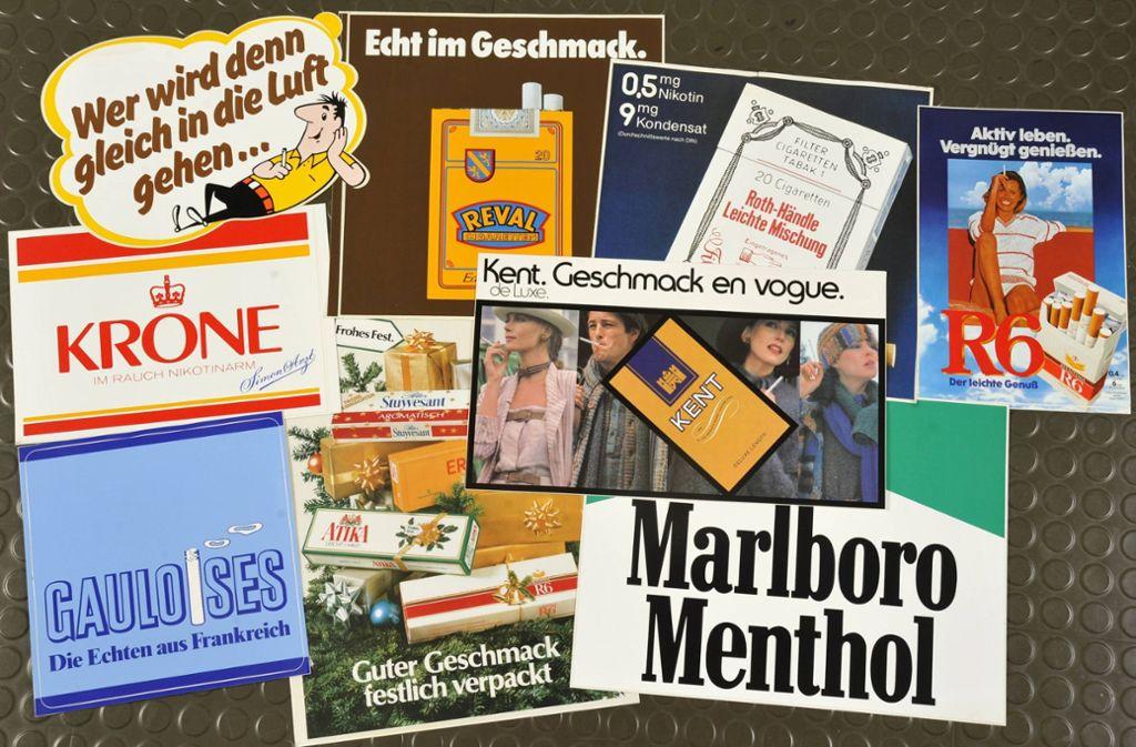 Egal ob HB-Männchen oder Marlboro Man – Charaktere aus der Tabakwerbung wurden zu Kultfiguren. Wir zeigen in unserer Bilderstrecke alte Werbeplakate. Foto: imago/teutopress/imago stock&people