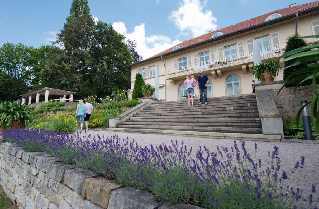 Rund 7.000 Besuchen kommen jährlich in den Park der Villa Reitzenstein. Foto: Lichtgut-Oliver Willikonsky