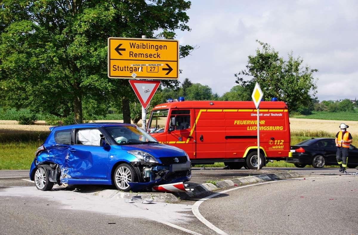 Der Unfall ereignete sich in Ludwigsburg. Foto: SDMG/SDMG / Hemmann