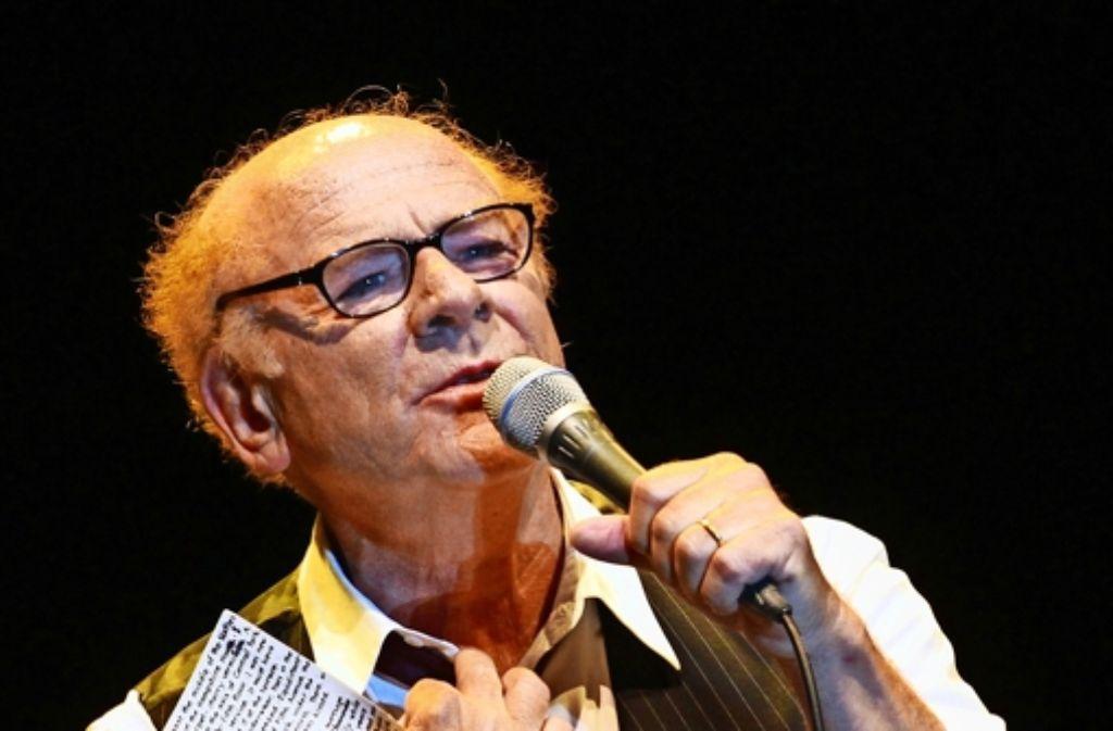 Art Garfunkel hier bei einem Auftritt  im vergangenen Jahr in Israel – Fotografen waren bei dem Konzert in Stuttgart nicht zugelassen. Foto: AFP