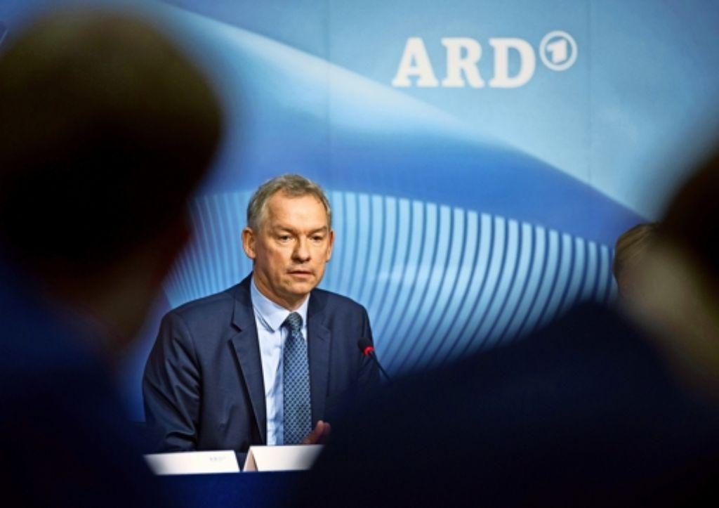 Lutz Marmor, der ARD-Vorsitzende, Foto: dpa